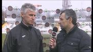 Иван Колев след поражението с 0:3 от Лудогорец