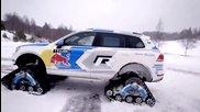 Страхотен Volkswagen Snowareg 2014 !
