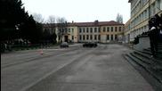 Малко дрифт с Drift Tigers в Професионална техническа гимназия - Варна