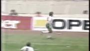 Голът на Н. Сираков срещу Италия на Сп в Мексико 1986 г.