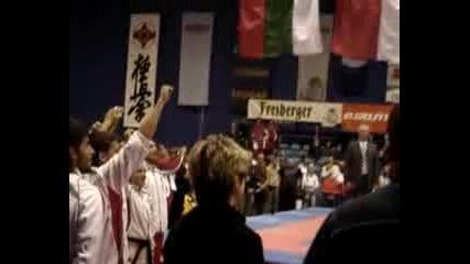 Bulgarian Karate Kyokushin National Team in Riesa Germany