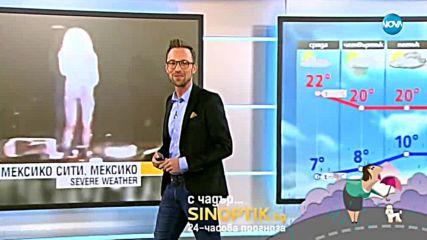 Прогноза за времето (17.10.2018 - обедна)