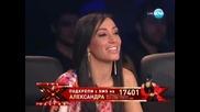X Factor Bulgaria Aлександра ~ Boney M - Sunny (15.11.11)