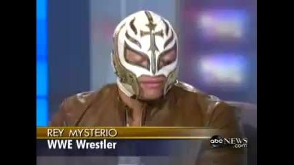 Rey Mysterio interview Aug 2007