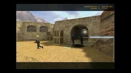 De_dust 2 Блокиране Counter - Strike