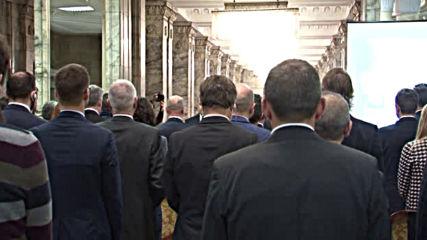 Срещата със стартъпите в президентството започна с минута мълчание за Стоянка Мутафова