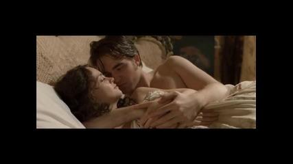 Бел Ами - Робърт Патинсън в гореща сцена от филма :)