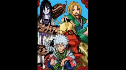 Jiraya, Orochimaru And Tsunade
