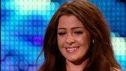 Момиче вдигна публиката на крака - Великобритания търси талант