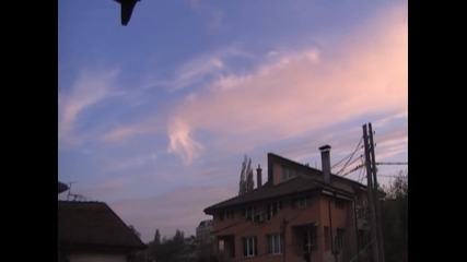 Небето над софия Time lapse