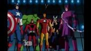 Отмъстителите: Най-могъщите герои на Земята (2010-2012) с аудиото от Х - Мен: Еволюция (2000-2003)