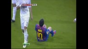 Поредната проява на Пепе (real Madrid vs Barcelona)
