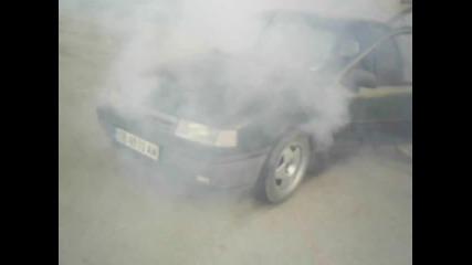Вектра 1.6 пали гуми