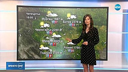 Прогноза за времето (18.07.2019 - обедна емисия)