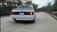 Bmw подгрява гумите!!!