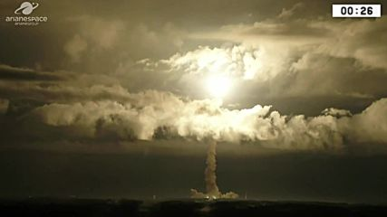 French Guiana: Ariane 5 rocket launched on its 100th space mission