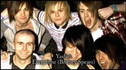 Yashin - Everytime [britney Spears Screamo Cover] New!!