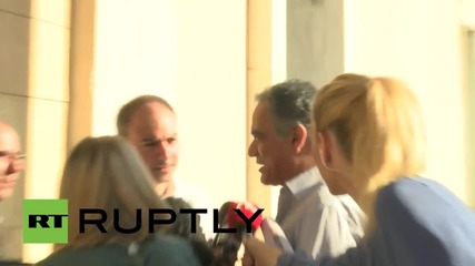 Greece: Syriza meet at parliament ahead of bailout vote