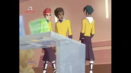 Galactik Football - Season 2 - Episode 3 2/4 eng