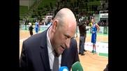 Барчовски: Победата на Рилски спортист е добра новина за българския баскетбол