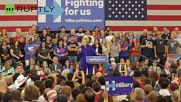 Clinton Rallies Supporters Ahead of California Primary