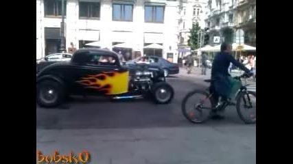 Hot Rod из улиците на Виена