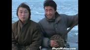 Луди китайци с банджо. Гърлено пеене