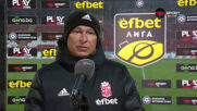 Балъков: Ние се опитахме да играем футбол, те ритаха напред