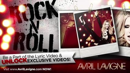 Avril Lavigne - Rock N Roll (официално аудио) 2013 Hd