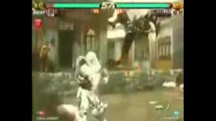 Tekken 6 - Jack 6 vs Yoshimitsu