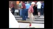 Дядо танцува на Трап