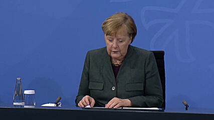 Germany: Merkel announces extension of partial lockdown amid fears over COVID variants