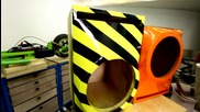 Как да се боядисва кутия за subwoofer