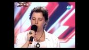 Държавен служител смая журито с гласа си - X - Factor България 14.09.11