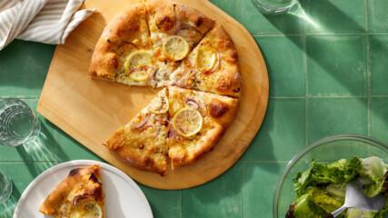 Пица с лимон и сирене | Печивата на Марта | 24Kitchen Bulgaria