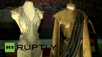 """Изложба, посветена на сериала """"Игра на тронове"""", беше открита в Берлин"""