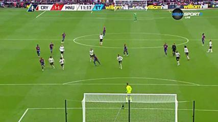 Кристъл Палас - Манчестър Юнайтед 1:2 /репортаж/