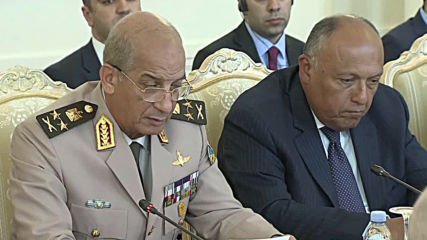 Russia: Shoigu and Lavrov hold '2+2' talks with Egyptian defence and foreign ministers