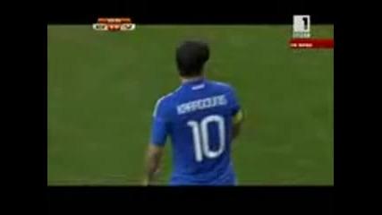 Южна Корея - Гърция 12.06.2010 първо полувреме част 3