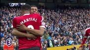 Младокът Рашфорд реши манчестърското дерби в полза на Юнайтед
