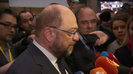 Belgium: Schulz 'confident' of a deal with the UK over membership