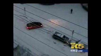 Ледена пързалка !!! За коли !?!