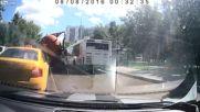 Експлозия на камион с говна :) Made in Москва :)