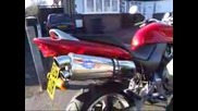 Honda Hornet 250cc With Blueflame Exhaust