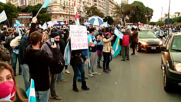 Argentina: Anti-govt protest held in Buenos Aires on Independence Day