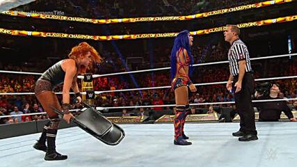 Becky Lynch vs. Sasha Banks – Raw Women's Title Match: WWE Clash of Champions 2019 (Full Match)