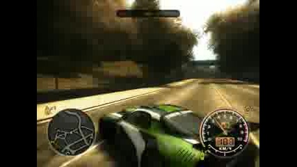 Need For Speed Most Wanted На Български!