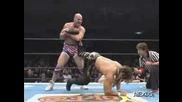 Kurt Angle vs. Hiroshi Tanahashi - New Japan Pro Wrestling 05.04.09