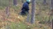 Шок. Извънземни: Реален Пришълец в гората