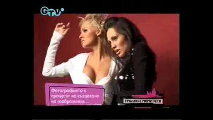 Градските момичета с еротична фотосесия за Playboy